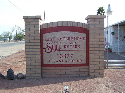 Valley Of The Sun RV Park Photo Gallery
